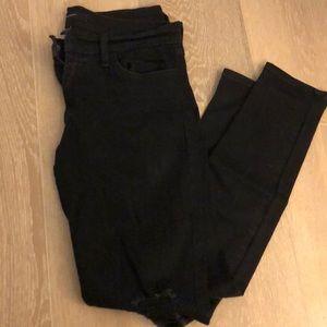 Black Ripped Flying Monkey Jeans